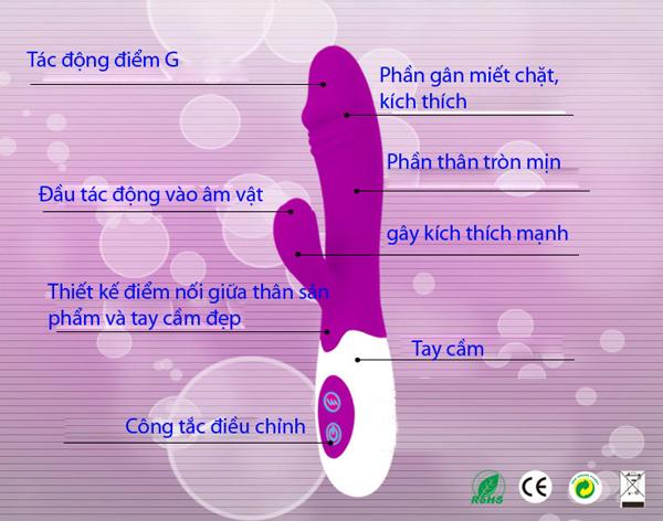Thanh rung tình yêu pretty love - đồ chơi tình dục nữ