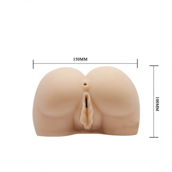 Kích thước âm đạo giả chổng mông silicon